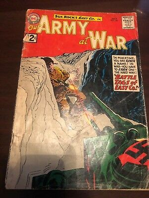 Our Army at War #120 (Jul 1962, DC)