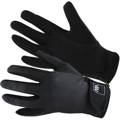 Woof Wear Grand Prix Womens Gloves Competition Glove - Black All Sizes