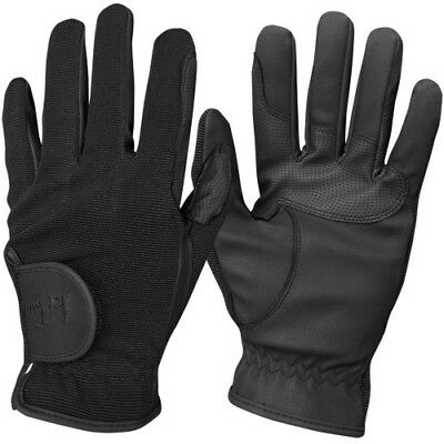 Mark Todd Super Riding Unisex Gloves Competition Glove - Black All Sizes