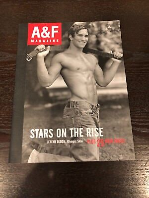 A&F Magazine, Christmas 2004, Stars on the Rise, Good Cond, Free Shipping!