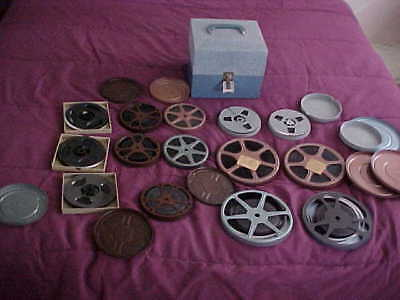 Vintage Home Movies-8Mm-14 Films-Mixed-Unviewed-California-1940-1960`s