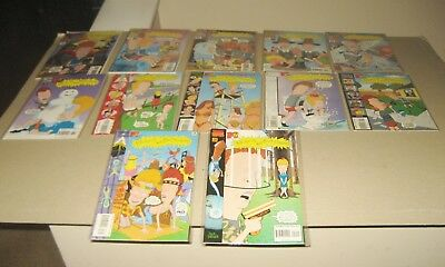 Beavis and Butthead Marvel Comics Issues Lot 8 - 19  NM