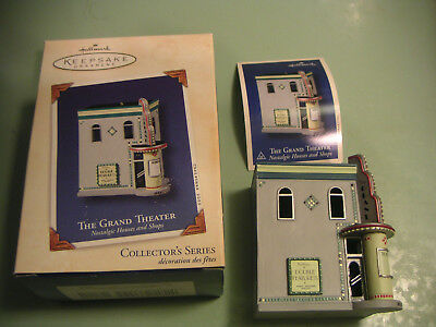 Hallmark Keepsake Ornament The Grand Theatre Nostalgic Houses And Shops 2003