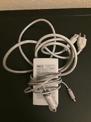 Genuine NEC UP06051120 12V 4A Output Power Cord - INCLUDES CLOVER POWER LEAD