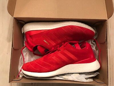 Adidas busenitz pure boost red suede sz 10.5