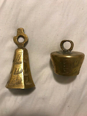 Pair of Brass Bells - Made in India