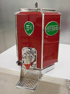 1940's Vintage Hexagon Shaped Coca-Cola Multiplex Soda Fountain Dispenser