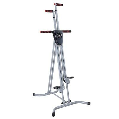 LCD Vertical Climber Home Adjustable Cardio Exercise Fitness Climbing INCD VAT