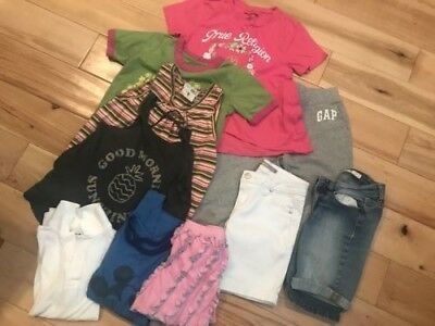 Lot of girl's clothes, size 8-10 EUC