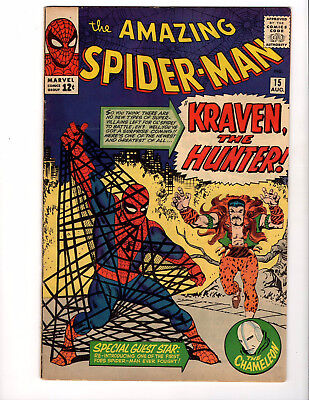 The Amazing Spider-Man #15 1st Kraven The Hunter Higher Grade Must Have