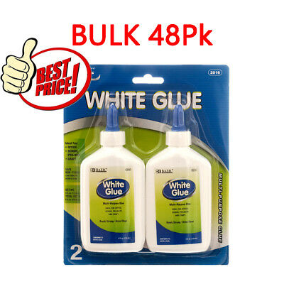 48Pk BAZIC 4 Oz. (118mL) White Glue BULK