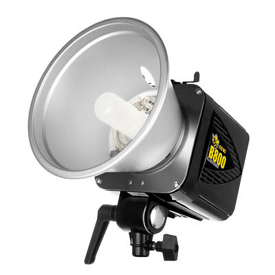 Alien Bees B800 320WS Monolight Flash Unit Black with reflector, cord & cover