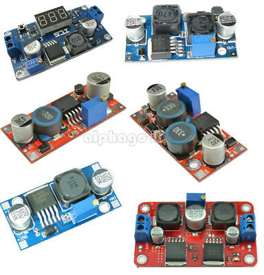 XL6009 DC Adjustable Step Up Down Boost Power Converter Module Replace LM2596 S