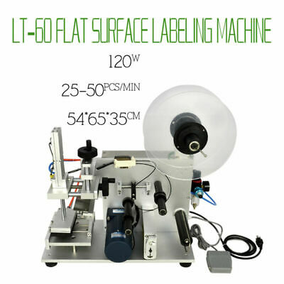 Semi-automatic Labeling Machine Plane Flat Surface Labeler  New Item