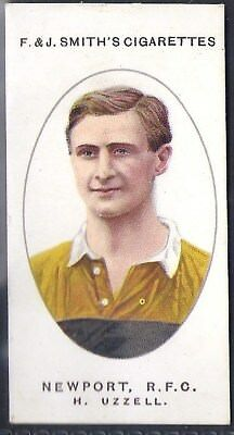 Smiths-Football Club Records (1917)-#49- Newport Rugby - Uzzell