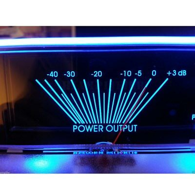 Power Amplifier Dual Analog Panel VU Meter Audio Level dB Meter With BackLight