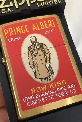 1999 Zippo Lighter Tobacco Tin Series Prince Albert Now King  -  50 Made MIB
