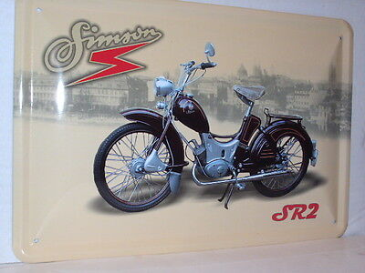 simson oldtimer moped sr 2 ddr suhl schild 20 x 30 eur 7. Black Bedroom Furniture Sets. Home Design Ideas