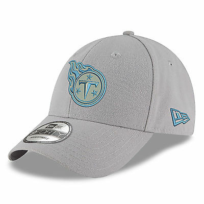 NFL Tennessee Titans New Era Gray Pop 9FORTY Adjustable Cap Unisex