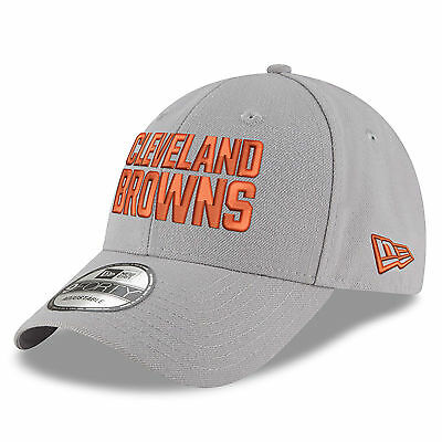 NFL Cleveland Browns New Era Gray Pop 9FORTY Adjustable Cap Unisex
