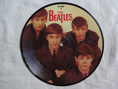 """unplayed 7"""" picture disc - THE BEATLES - Love Me Do"""
