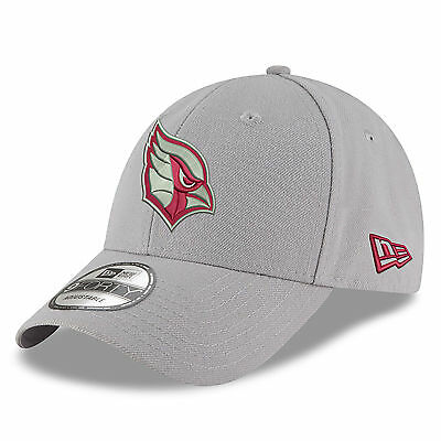 NFL Arizona Cardinals New Era Gray Pop 9FORTY Adjustable Cap Unisex