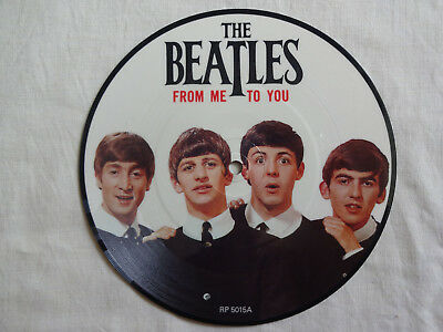 """unplayed 7"""" picture disc - THE BEATLES - From Me To You"""