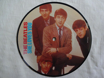 """unplayed 7"""" picture disc - THE BEATLES - She Loves You"""