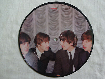 """unplayed 7"""" picture disc - THE BEATLES  - I Want To Hold Your Hand"""