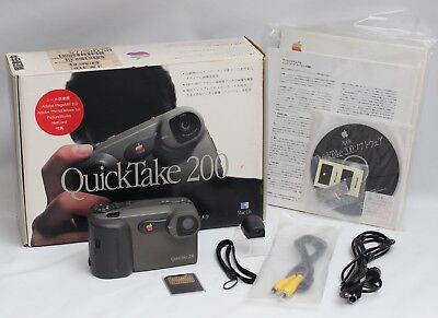 Apple QuickTake 200 Digital Camera Japanese Release Boxed AS NEW [1997]