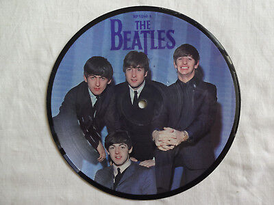 """unplayed 7"""" picture disc - THE BEATLES - A Hard Day´s Night"""