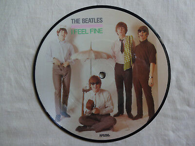 """unplayed 7"""" picture disc - THE BEATLES - I Feel Fine"""