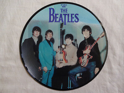 """unplayed 7"""" picture disc - THE BEATLES - Ticket To Ride"""