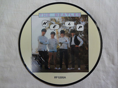 """unplayed 7"""" picture disc - THE BEATLES - Help"""