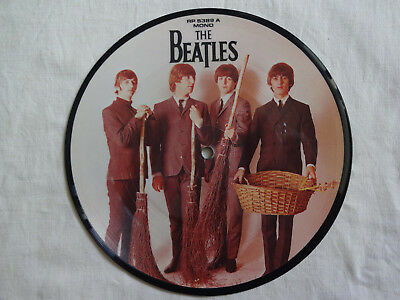 """unplayed 7"""" picture disc - THE BEATLES - Day Tripper/We Can Work It Out"""