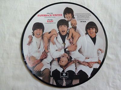 """unplayed 7"""" picture disc - THE BEATLES - Paperback Writer"""