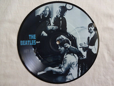 """unplayed 7"""" picture disc - THE BEATLES - Hey Jude (+ Apple-insert)"""