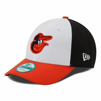 MLB Baltimore Orioles New Era The League 9FORTY Adjustable Cap Hat Headwear