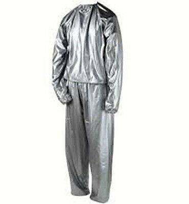 Men Xl Sauna Suit For Weight Loss Slimming Training Exercise Sweat Gym Home