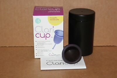 Coupelle Menstruelle CLARI CUP - 100% naturelle - MADE IN FRANCE -  Taille S