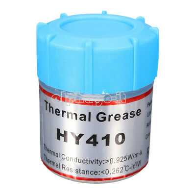 10g White Thermal Grease Paste For CPU GPU VGA Chipset Cooling Heatsink HY410
