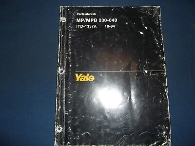 Yale mpmpb 030 040 ab forklift pallet jack lift truck parts manual yale mpmpb 030 040 ab forklift pallet jack lift truck parts manual book fandeluxe Image collections