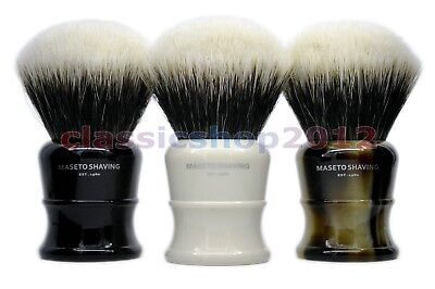 MS - Fan Shape 2 Band 100% Finest Badger Shaving Brush&Classic Handle 30mm Knot