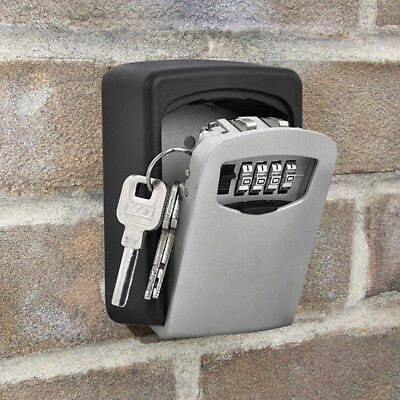 Hook New Digit Wall Holder Mount Box Security Lock Case Storage Combination Key