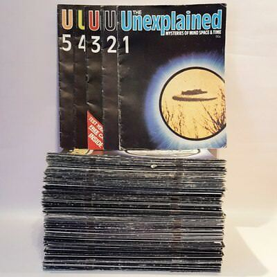 97x The Unexplained Mysteries of Mind, Space & Time Magazine - Issues 1-105