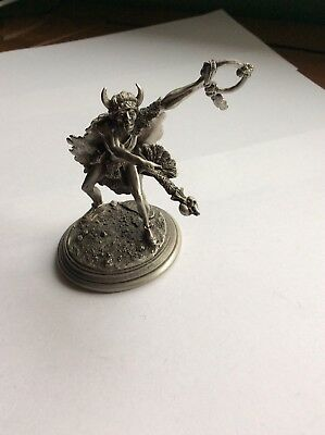 Don Poland Artist Fine Pewter Indian Dancer 1160 Chilmark