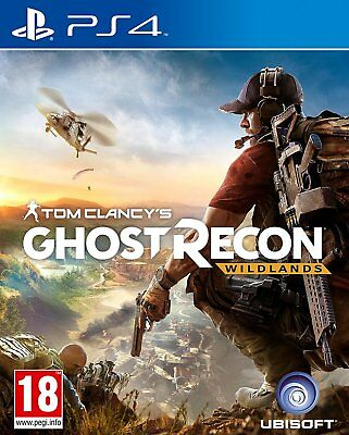 Tom Clancy's Ghost Recon Wildlands (PAL Import) PS4 New!