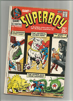Superboy #174 Giant G83 {Jun 1971 Dc} Early Bronze Age  F-  5 Great Stories Wow!