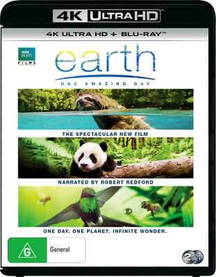 Earth One Amazing Day UHD 4K Blu-ray Region B New!