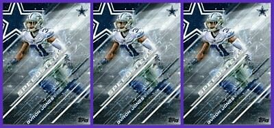 3x SPEEDSTERS BYRON JONES Topps Huddle Digital Card